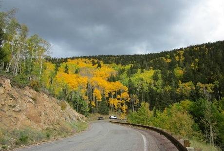 Sắc vàng trên con đường thắng cảnh Santa Fe